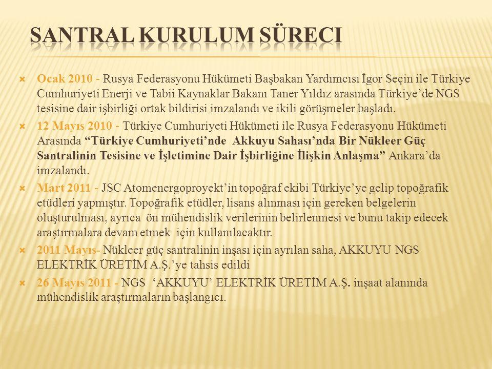  Ocak 2010 - Rusya Federasyonu Hükümeti Başbakan Yardımcısı İgor Seçin ile Türkiye Cumhuriyeti Enerji ve Tabii Kaynaklar Bakanı Taner Yıldız arasında