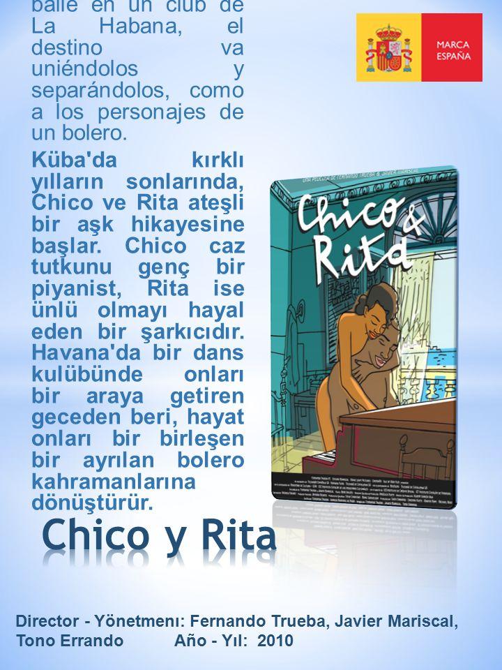 En la Cuba de finales de los años cuarenta, Chico y Rita viven una apasionada historia de amor.