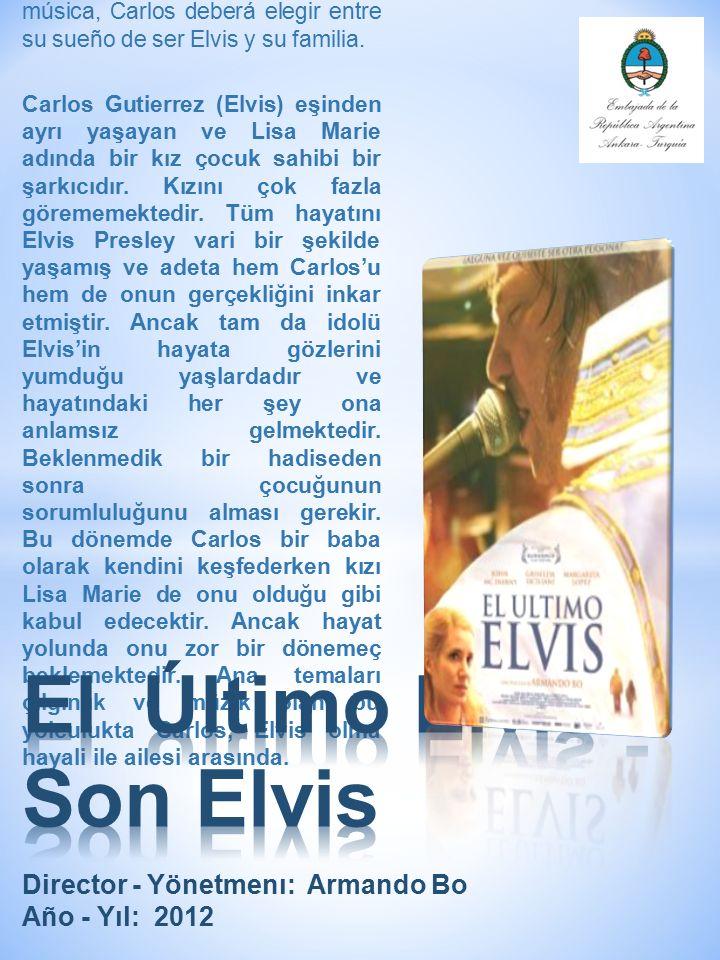 Carlos Gutiérrez (Elvis) es un cantante separado que tiene una pequeña hija llamada Lisa Marie a la que no ve muy seguido.