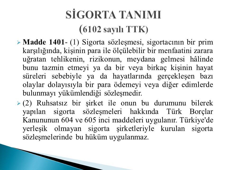  Kasko sigorta sözleşmesinden kaynaklanan davalar, TTK nun 1268.maddesi gereğince iki yıllık zamanaşımı süresine tabidir.