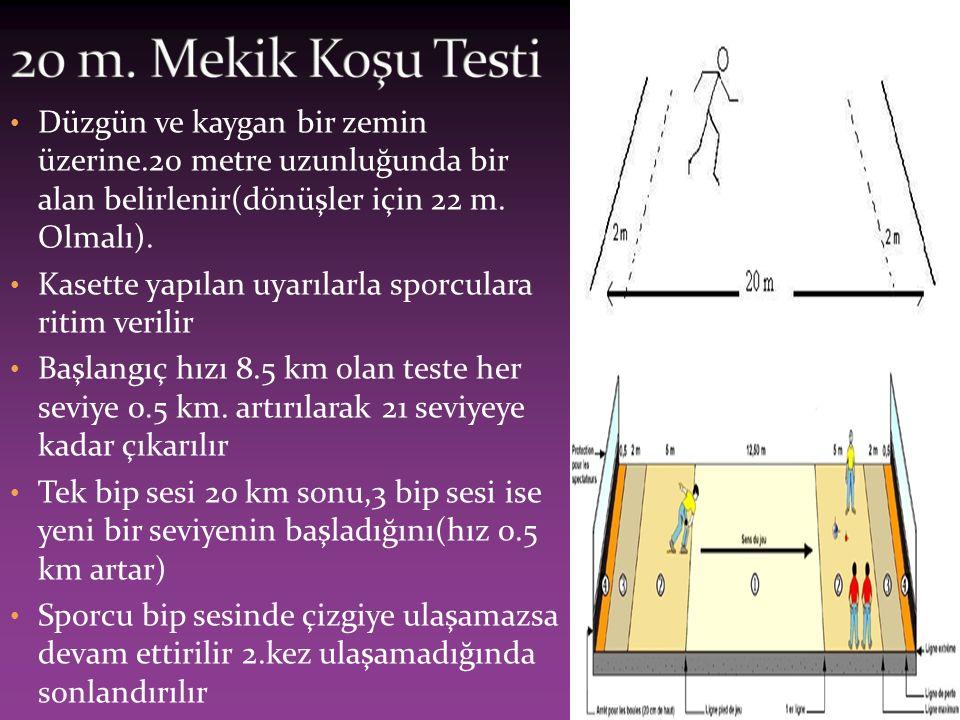 Ölçüm sehpası ya da duvara işaretlenmiş ölçü sistemine ihtiyaç vardır.sporcu ayak tabanları yerde olmak üzere,en uç noktasıyla sıçrayarak ulaşabileceği mesafe ölçülür.sıçrama ayağı duvar tarafından olmalı