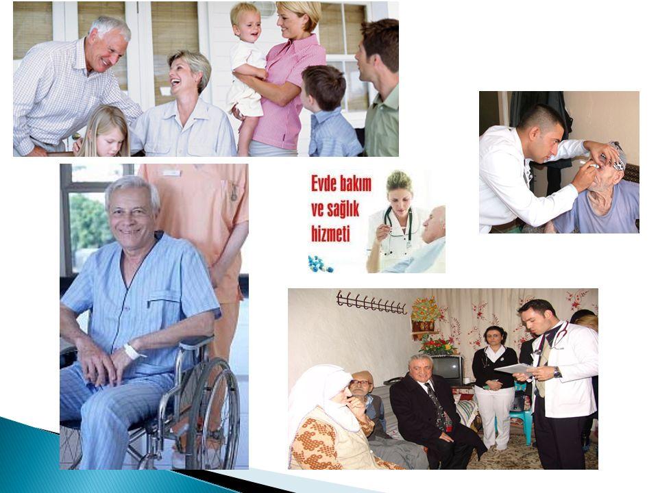  2010 yılında çıkarılan yönerge ile evde bakım hizmetleri adı altında aile hekimlerine kayıtlı bulunan tüm nüfusa evde verilmesi planlanan bir sağlık hizmetinden bahsedilmektedir.
