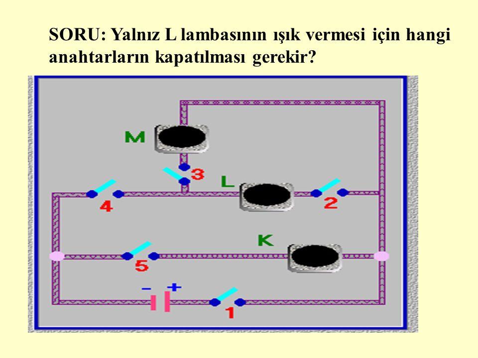 DENEYİN SONUCU Devrede,B ve C ampulleri birbirlerine paralel bağlıdır.A ampulü bunlara seri bağlıdır.