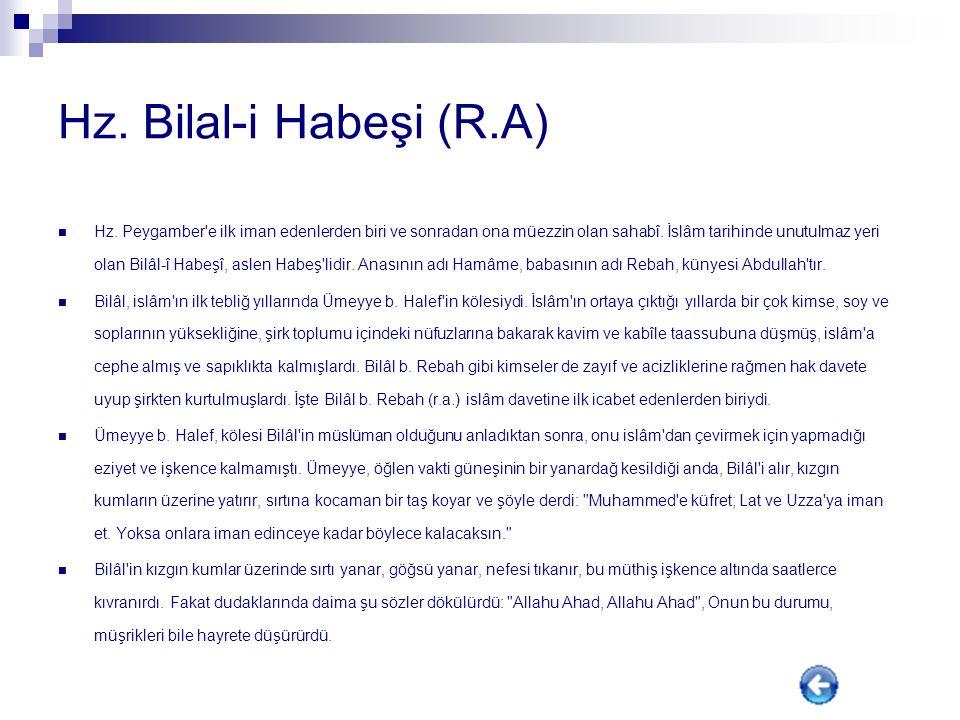 Hz. Ali (R.A) Hz. Ali (a.s), Resulullah (s.a.a)'in vasisi, halifesi ve on iki imamın ilkidir. Hz. Ali (a.s), Amm'ul- Fil'in 30. yılının on üçüncü günü