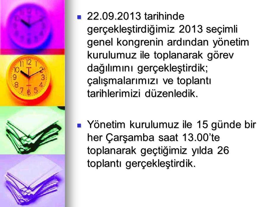 GEK ve ODAMIZ İŞBİRLİĞİ İLE DÜZENLENEN EĞİTİMLER 21.12.2013 tarihinde, Prof.