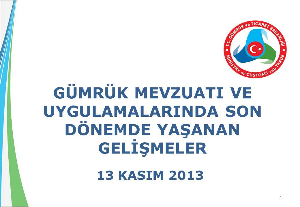  2006 yılında; 23 adetten Ankara, İstanbul, İzmir, İzmit, Bursa, Mersin illerinde olmak üzere 6 adede indirilen gümrük laboratuvarı.