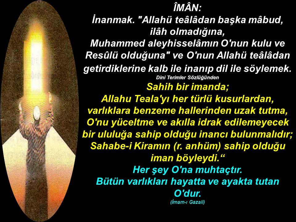 Kur'an-ı Kerim Hucurat suresi 14.Ayet. Bedeviler iman ettik dediler.