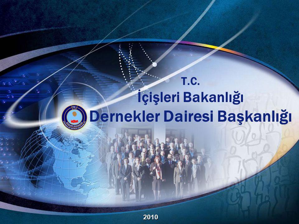 T.C. İçişleri Bakanlığı Dernekler Dairesi Başkanlığı 2010
