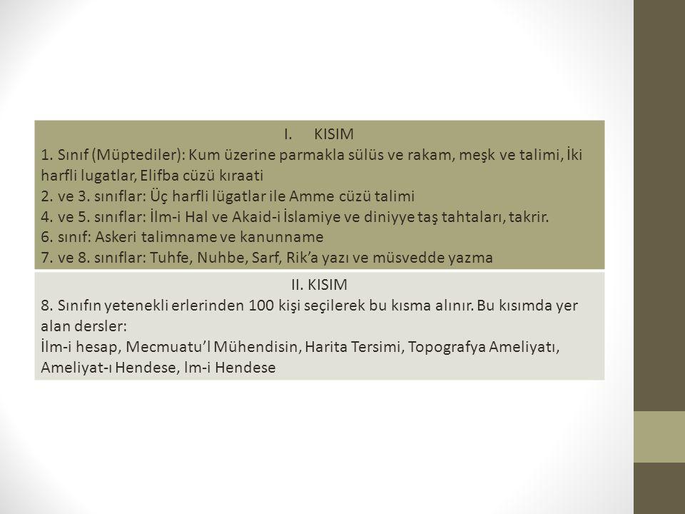 I.KISIM 1.