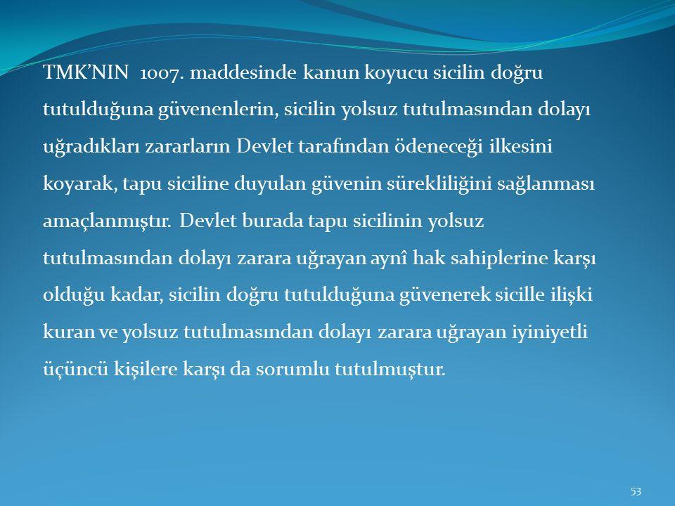 TMK'NIN 1007.
