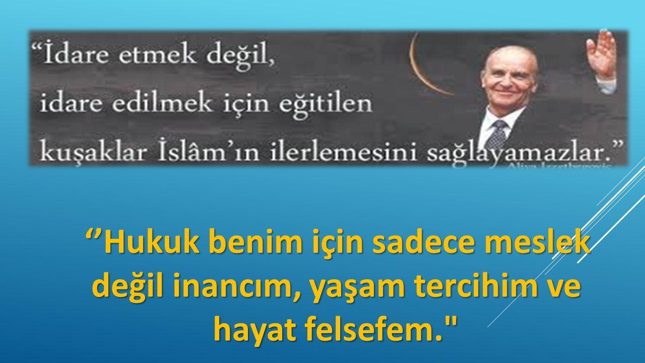 Saf dinler mutluluğu ahirette aramayı, maddiyatçı dinler (Yahudilik) dünyada aramayı önerirken; İslam iki cihan saadetini kurmayı amaçlar.