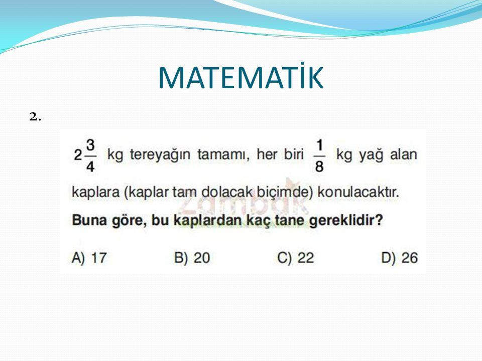 MATEMATİK 2.