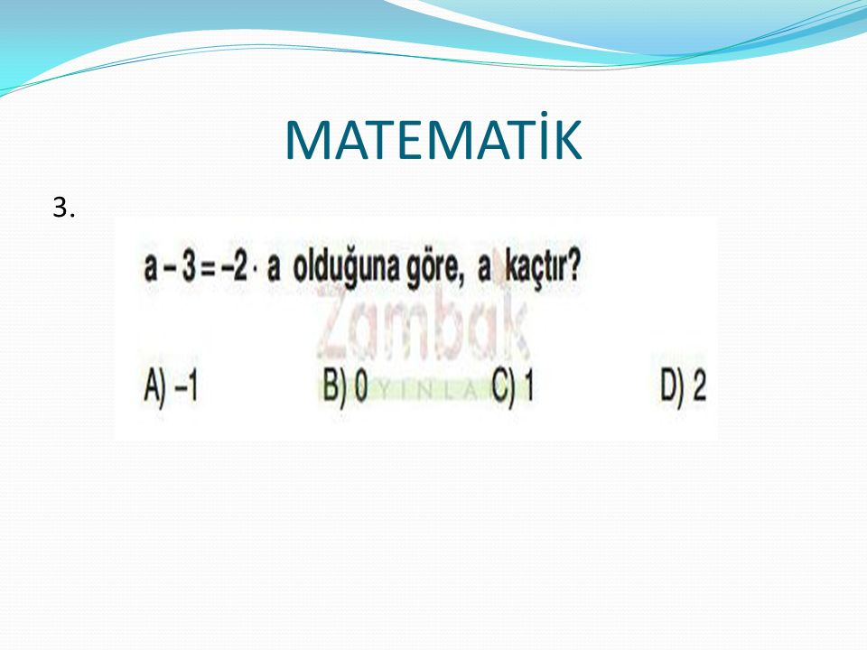 MATEMATİK 3.3.