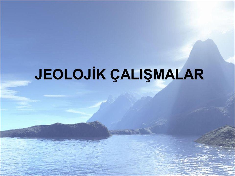 Türkiye'de jeolojik araştırmalar 19.