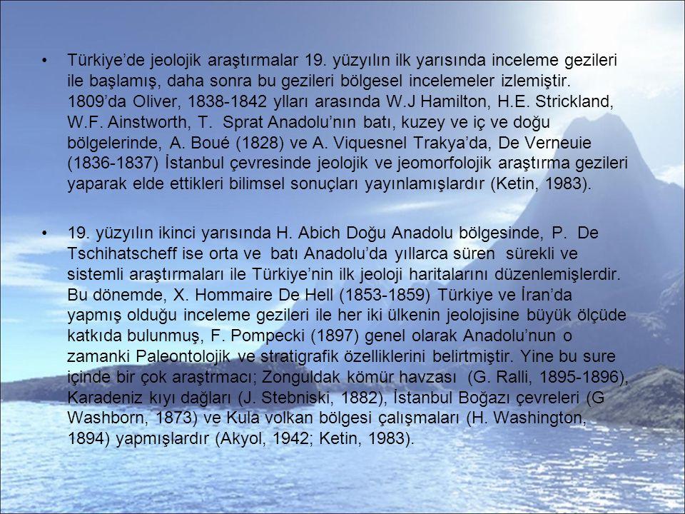 Paleomağnetik Çalışmalar Türkiye'de, Türkçe yayınlanan ilk paleomağnetik çalışma, Istanbul Üniversitesi Jeofizik Kürsüsü ( o zamanki adıyla) bünyesinde kurulan Alternatif alan Temizleme Sistemi ile Orbay (1975) tarafından başlamıştır.