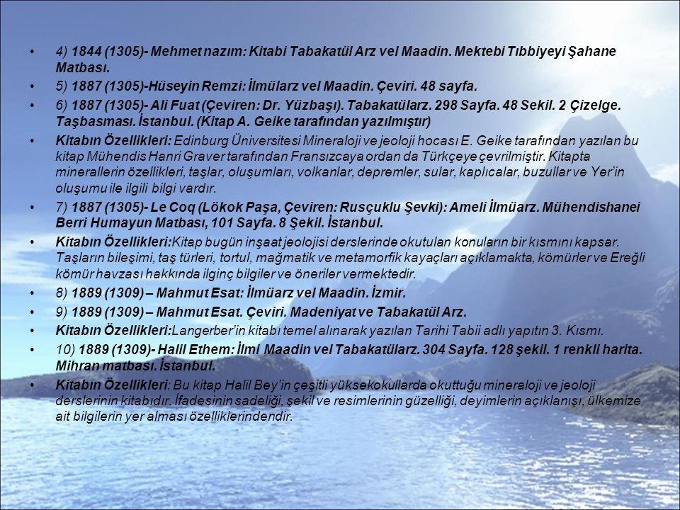 11) 1889(1307)- İbrahim Lütfi.: İlmi Arz.