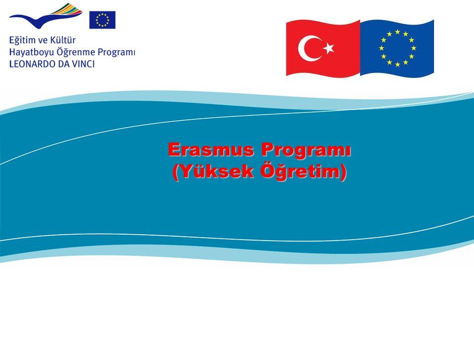 Erasmus Programı (Yüksek Öğretim) Erasmus Programı (Yüksek Öğretim)