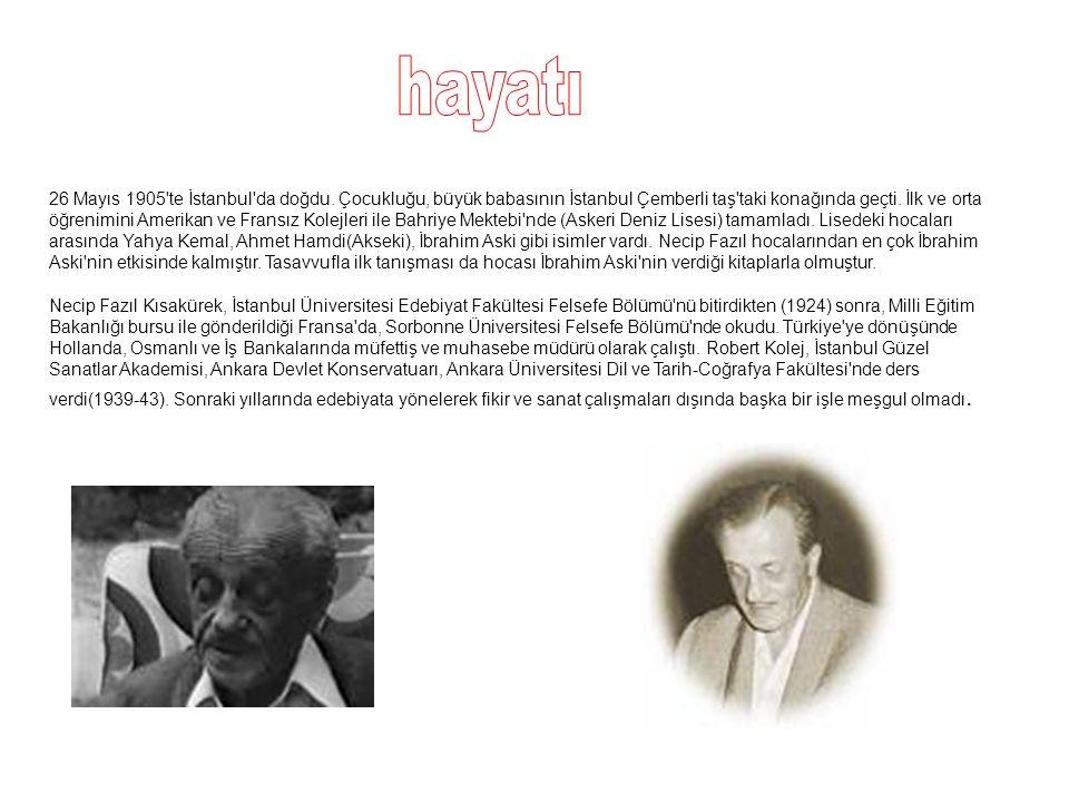 26 Mayıs 1905 te İstanbul da doğdu.