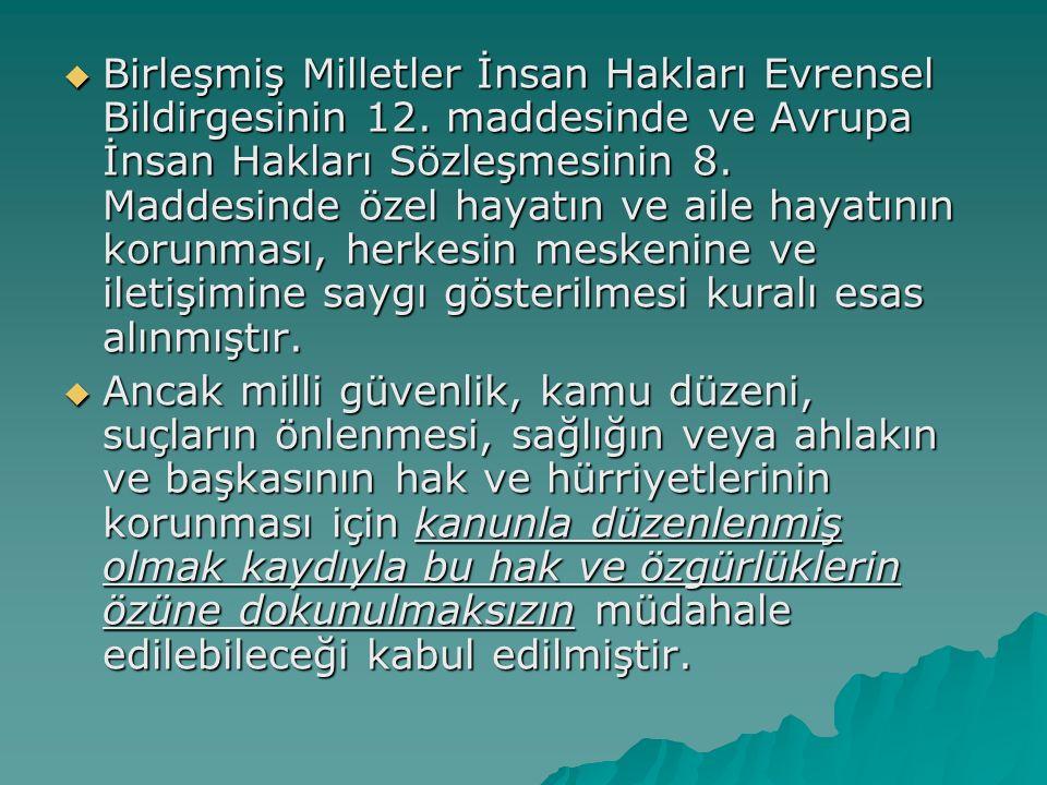  Birleşmiş Milletler İnsan Hakları Evrensel Bildirgesinin 12.
