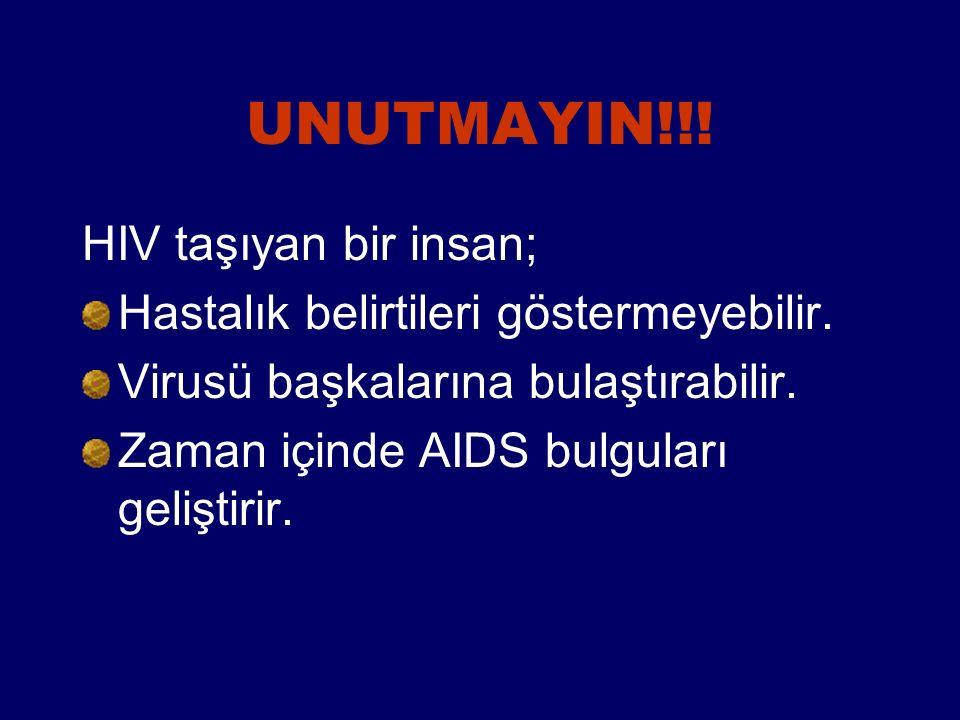 Anneden bebeğe geçişi önlemek için; Riskli davranışlarınız söz konusu ise gebe kalmadan önce test yaptırıp, HIV(-) olduğunuza emin olun