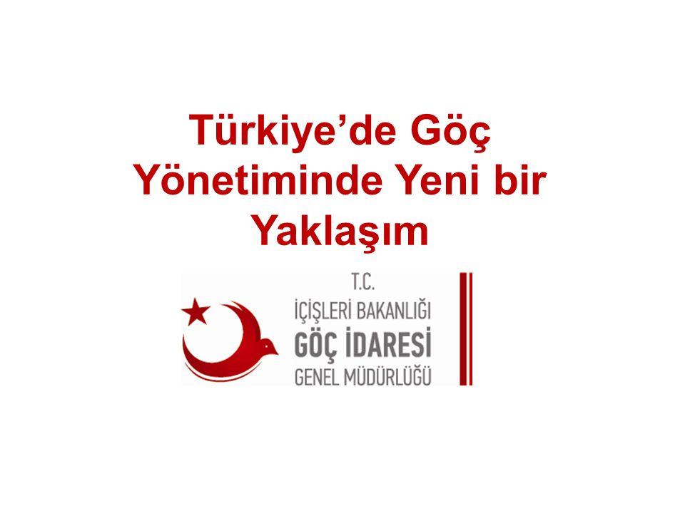 Türkiye'de Göç Yönetiminde Yeni bir Yaklaşım