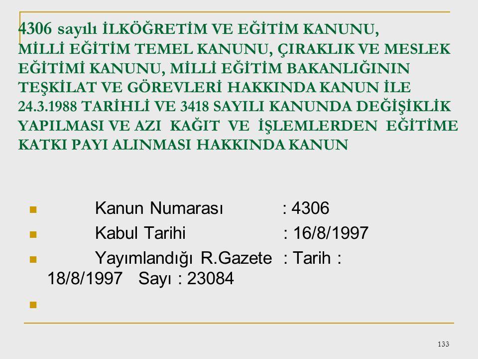 132 Madde 4 - Maarif Vekaleti yüksek diniyat mütehassısları yetiştirilmek üzere Darülfünunda bir İlahiyat Fakültesi tesis ve imamet ve hitabet gibi hi