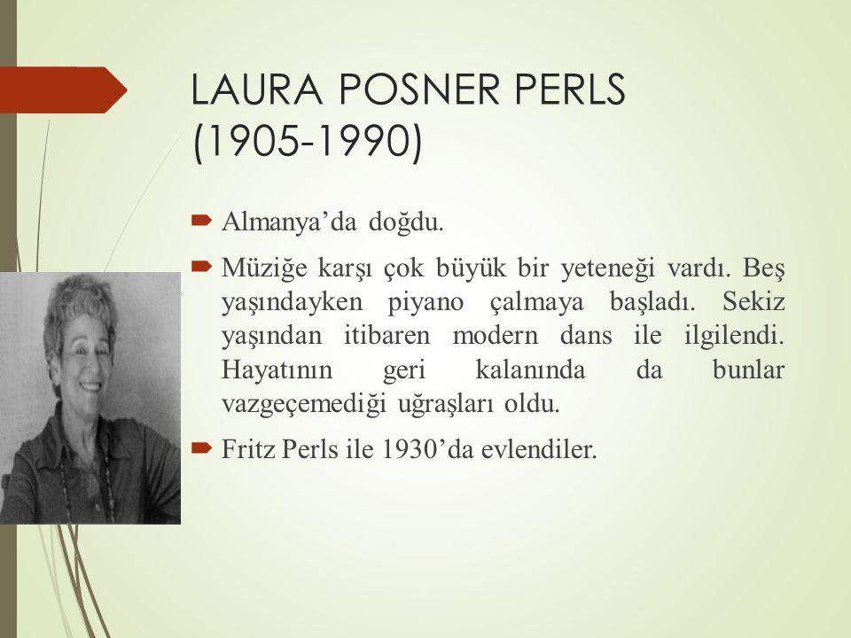 LAURA POSNER PERLS (1905-1990)  Almanya'da doğdu.