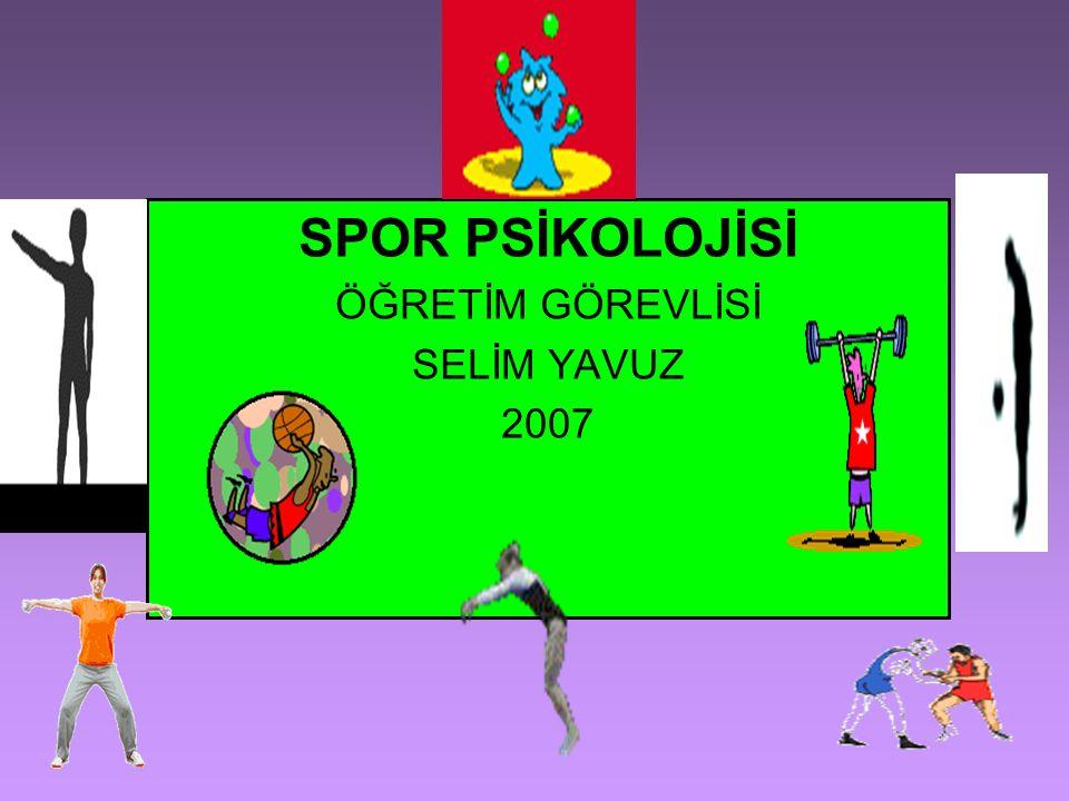SPOR PSİKOLOJİSİNİN TARİHÇESİ Spor psikolojisinin ortaya çıkış tarihi olarak 19.y.y.