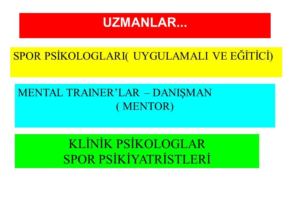 UZMANLAR...