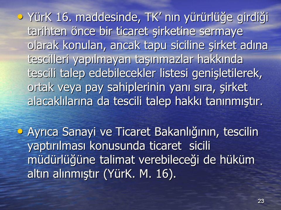 YürK 16.