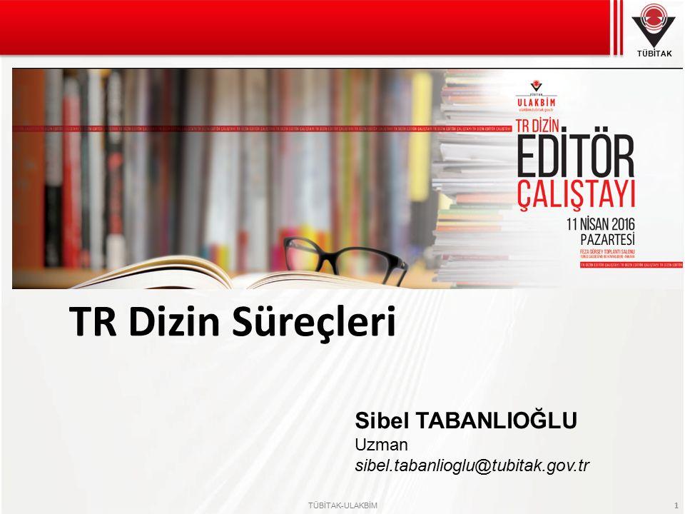 TÜBİTAK TÜBİTAK-ULAKBİM 12 TR Dizin - Kabul Dergi Listesi Üniversiteler Akademik Yükseltilme Ölçütleri, Sağlık Bakanlığı atama yükseltme, ÜAK Doçentlik Kriterleri