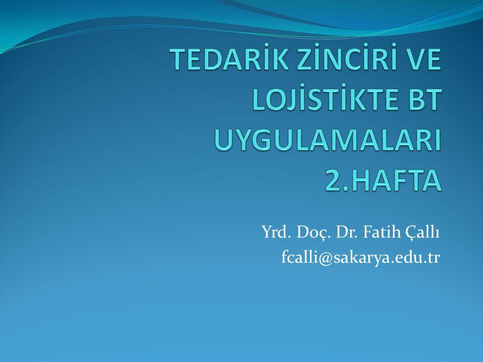 Yrd. Doç. Dr. Fatih Çallı fcalli@sakarya.edu.tr