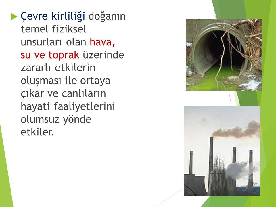 Hava Kirliliğini Önlemek İçin Alınabilecek Tedbirler: Sanayi tesislerinin bacalarına filtre takılması sağlanmalı.