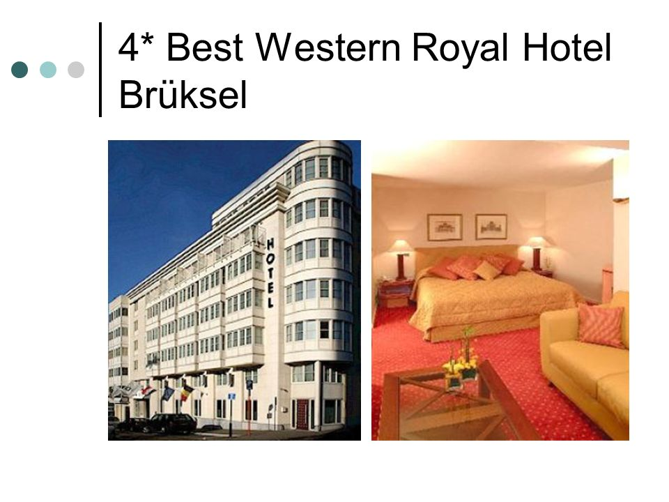 4* Best Western Royal Hotel Brüksel
