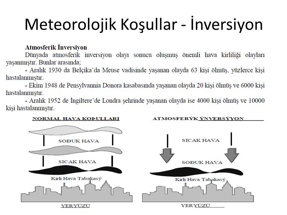 Meteorolojik Koşullar - İnversiyon