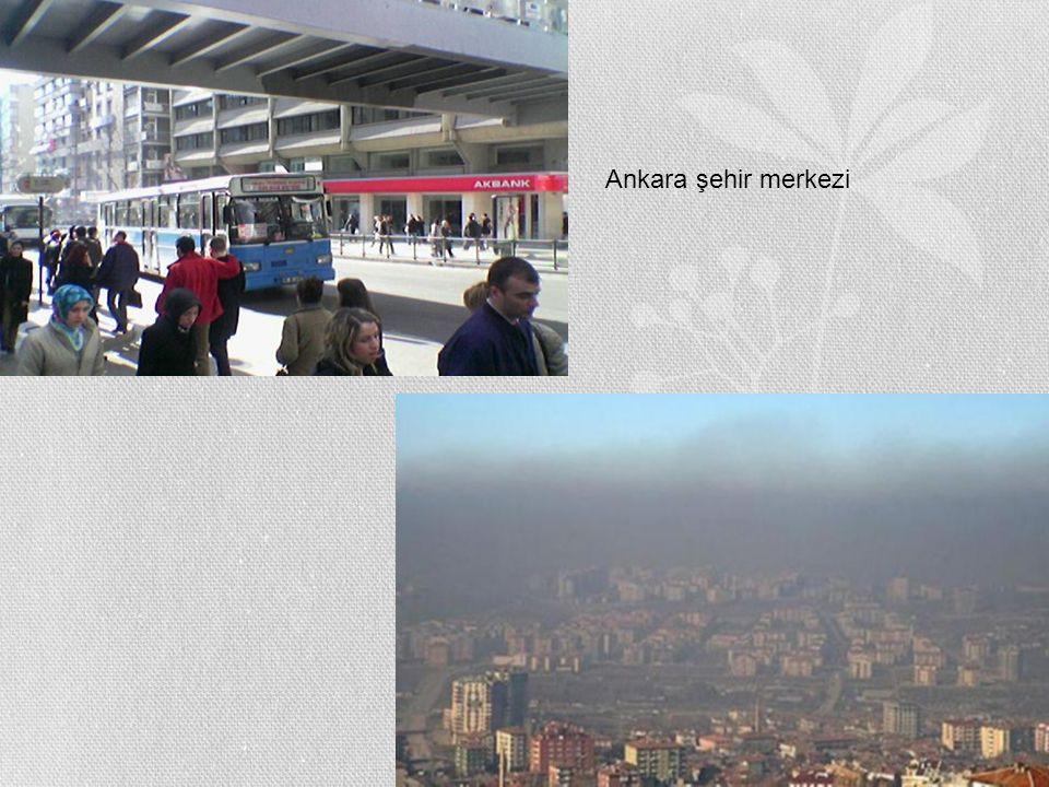Ankara şehir merkezi