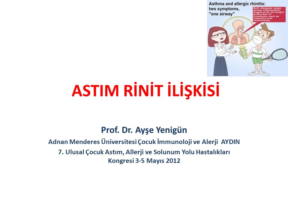ASTIM RİNİT İLİŞKİSİ Prof.Dr.