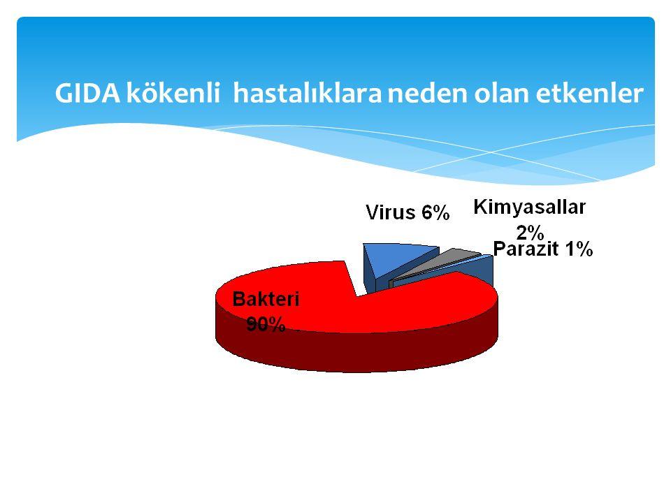  1930 – 1580 sayılı Belediyeler Yasası  1930 – 1593 sayılı Umumi Hıfzısıhha Yasası  1942 – Gıda Nizamnamesi  1952 – Gıda Maddeleri Tüzüğü  1961 – 224 sayılı Yasa  1995 – 560 sayılı KHK (Tüm yetki SB)  1997 – Türk Gıda Kodeksi  2004 – 5179 sayılı Yasa ( tüm yetki TB) Mevzuat