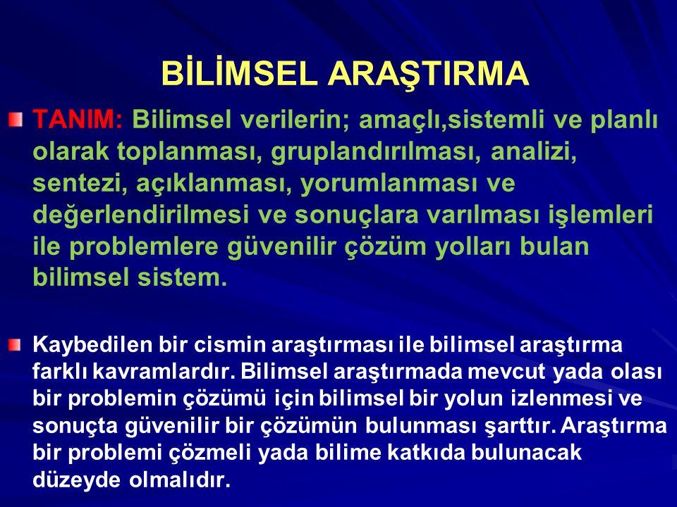 TEZLER Yayımlanmamış doktora tezi Öztürk, Sevim.(2004).