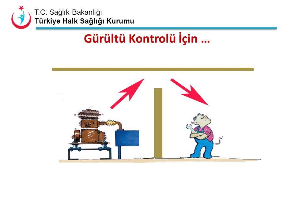 T.C. Sağlık Bakanlığı Türkiye Halk Sağlığı Kurumu Gürültü Kontrolü İçin …