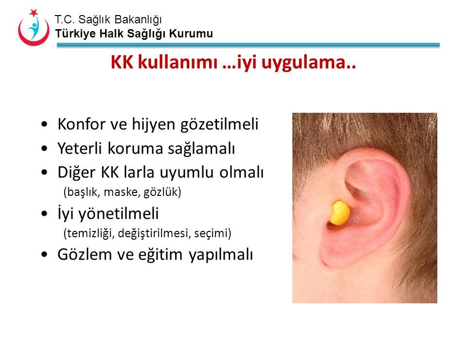 T.C. Sağlık Bakanlığı Türkiye Halk Sağlığı Kurumu KK kullanımı …iyi uygulama..