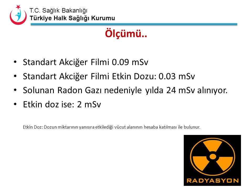 T.C. Sağlık Bakanlığı Türkiye Halk Sağlığı Kurumu Ölçümü..