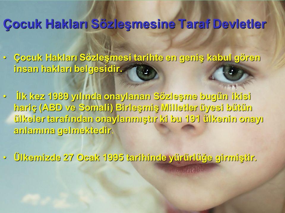 Engelli çocukların korunmasına ilişkin Türkiye'den örnekler....
