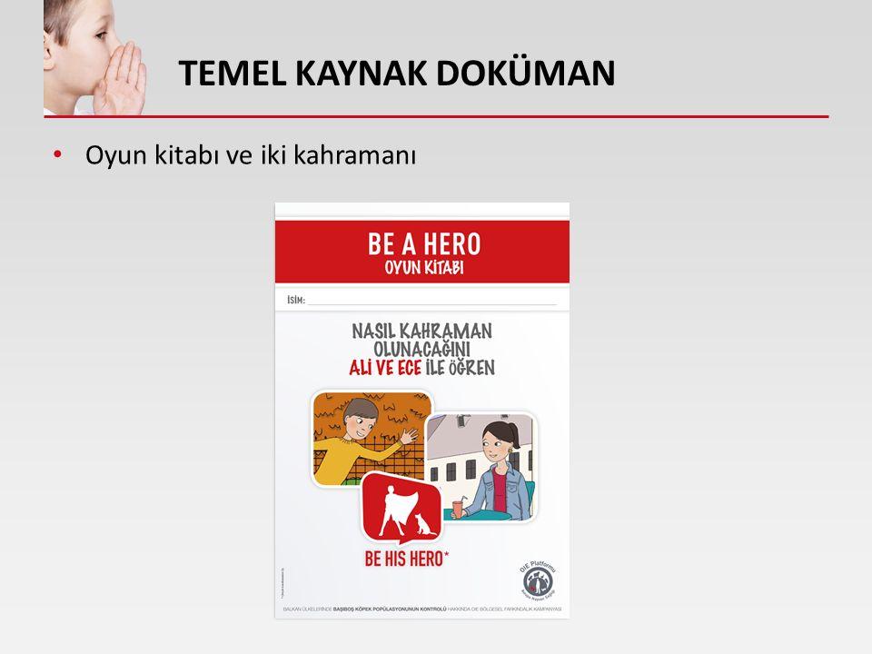 REHBER KİTABINIZ: YOL HARİTASI Okullar, çocukların yarım gün boyunca giymeleri için 'Be a hero' logolu t-shirtler hazırlayabilir (bütçe izin verdiği ölçüde).