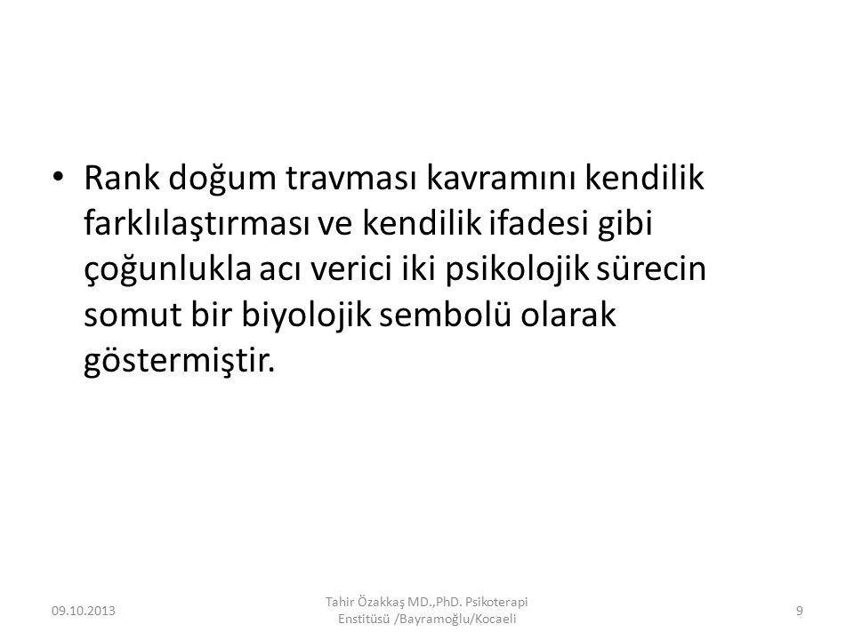 Teşekkür ederim… 09.10.2013 Tahir Özakkaş MD.,PhD. Psikoterapi Enstitüsü /Bayramoğlu/Kocaeli 150