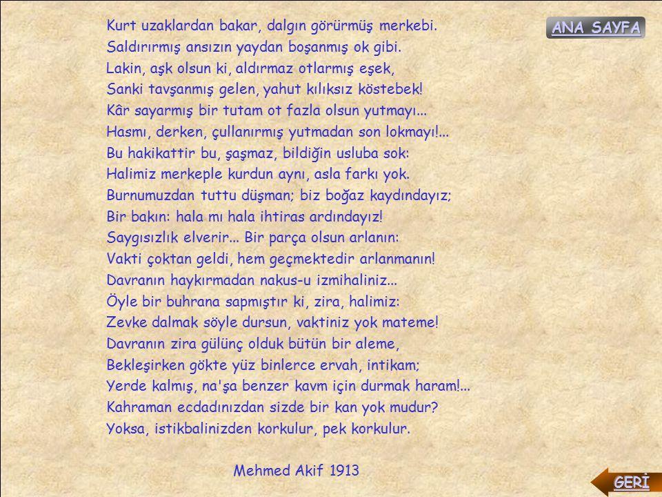 Müslümanlık Nerede. Müslümanlık nerde. Bizden geçmiş insanlık bile...
