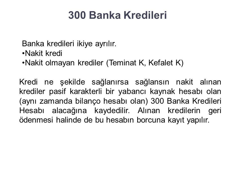 300 Banka Kredileri Günümüzde işletmelerin sadece öz kaynaklarıyla faaliyetlerini yürütebilmeleri zordur.