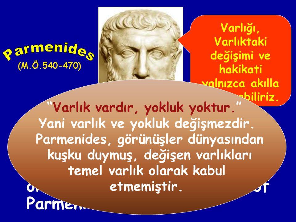 Miletli üçüncü filozof Anaksimenes, arkenin hava veya uçucu bir madde olduğunu iddia etmiştir. Ona göre su, sıkışmış hava; ateş ise incelmiş havadır.
