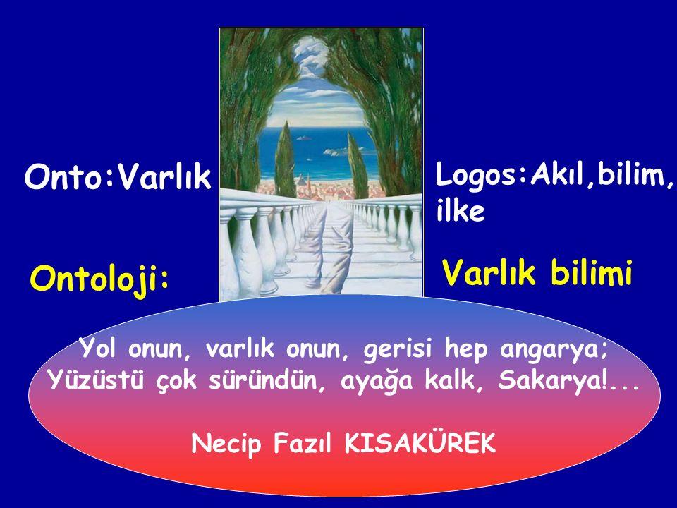 4-) HEGEL: Var olanların temelinde akıl veya tin denilen Geist vardır.