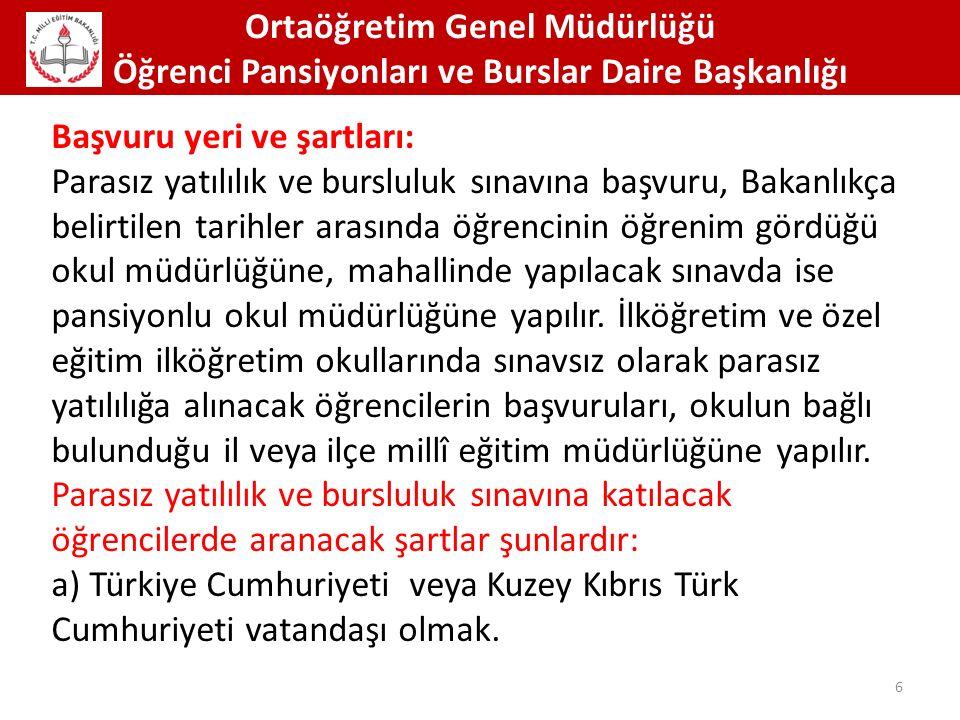 Ortaöğretim Genel Müdürlüğü Öğrenci Pansiyonları ve Burslar Daire Başkanlığı 67 TEMİZLİK ALIŞKANLIKLARI